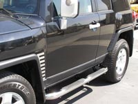 fj cruiser side bar