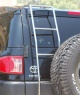 FJ Cruiser Rear Ladder - Stainless Steel